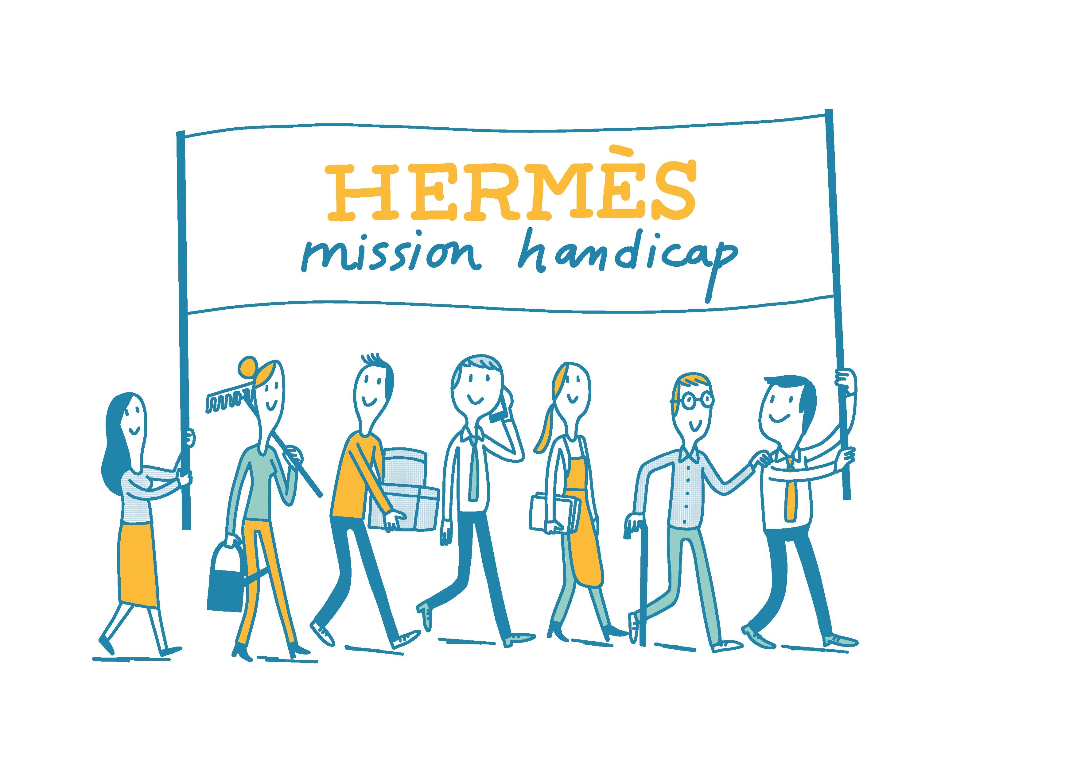 Visitez le stand de HERMES