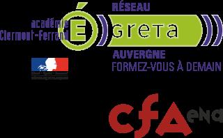 Logo de Réseau des GRETA d'Auvergne / CFA Education Nationale Clermont-Ferrand