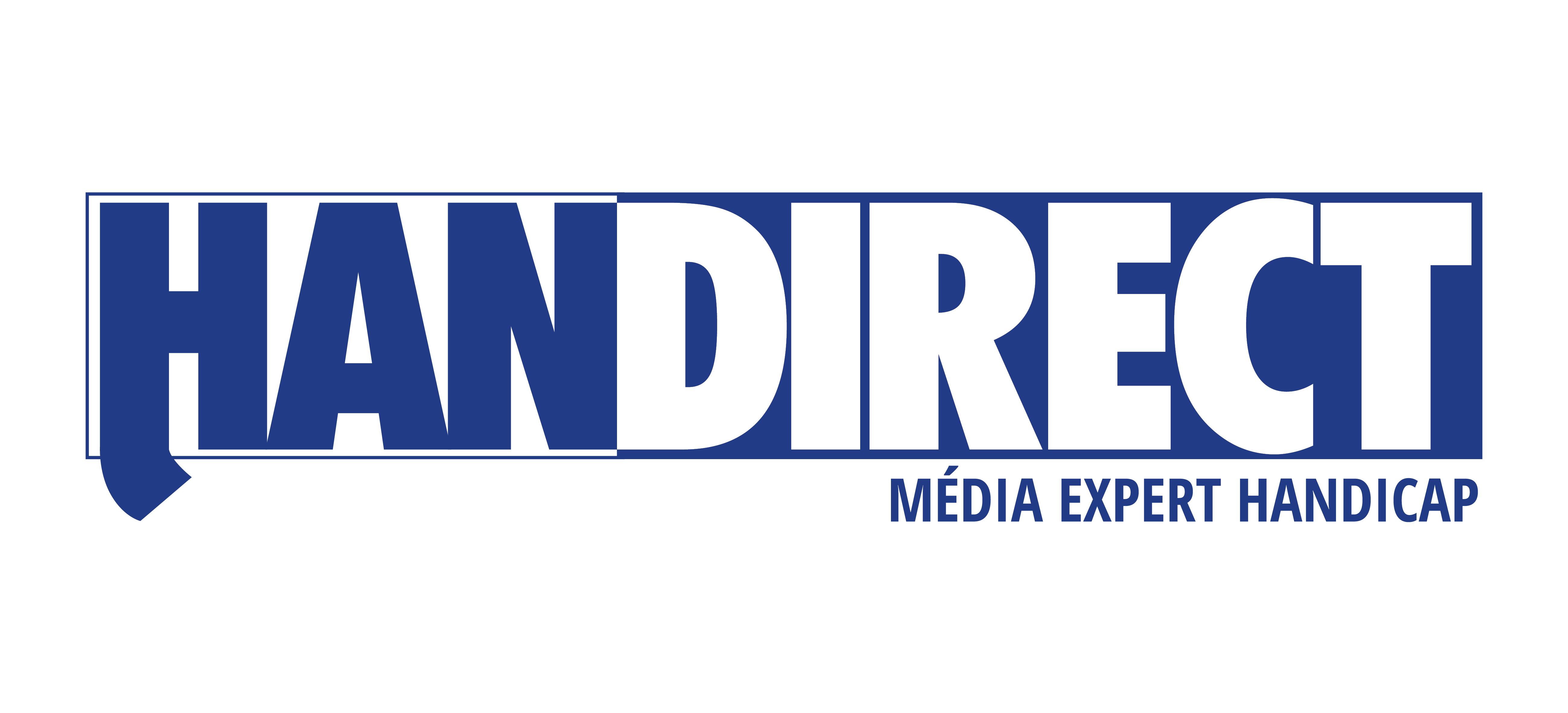 logo de HANDIRECT,  média expert handicap