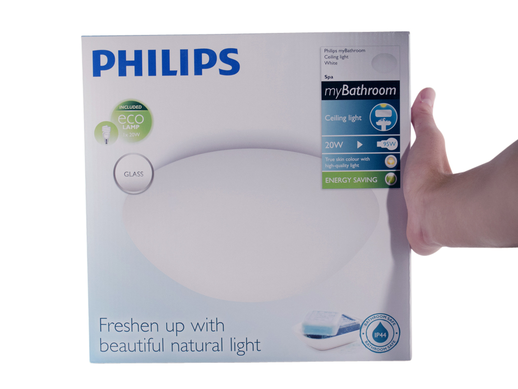 Beroemd Philips myBathroom Spa plafondlamp 230 V 20 W E27 wit - Handig.nl CH47