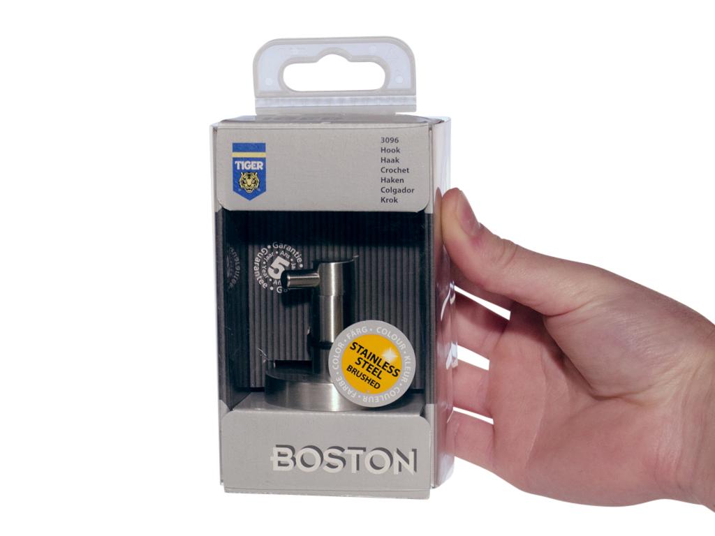 Tiger Boston Haakje.Tiger Boston Enkele Haak Groot 3096 3 09