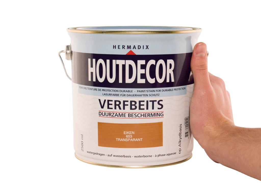 Hermadix Houtdecor Kleuren.Hermadix Houtdecor Verfbeits Eiken 653 2 5l Handig Nl