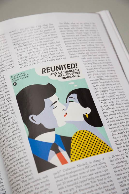 Malika Favre - Vogue UK — Handsome Frank Illustration Agency