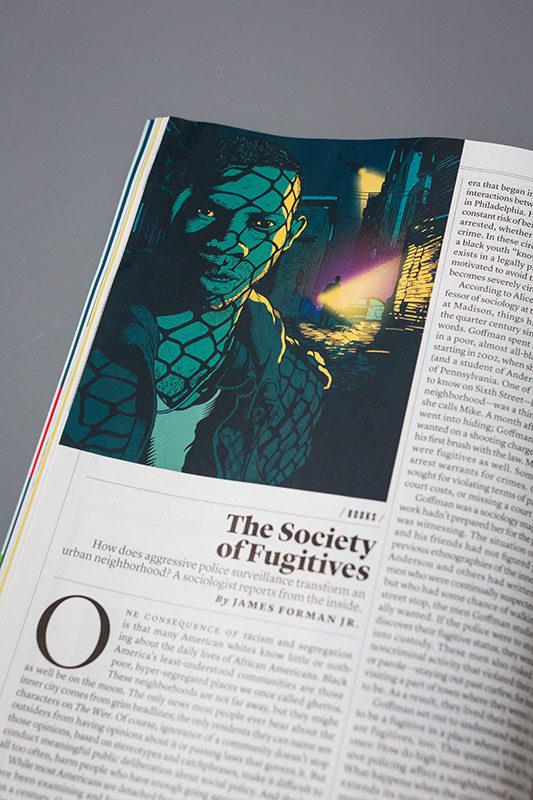 Tim McDonagh - The Atlantic — Handsome Frank Illustration Agency