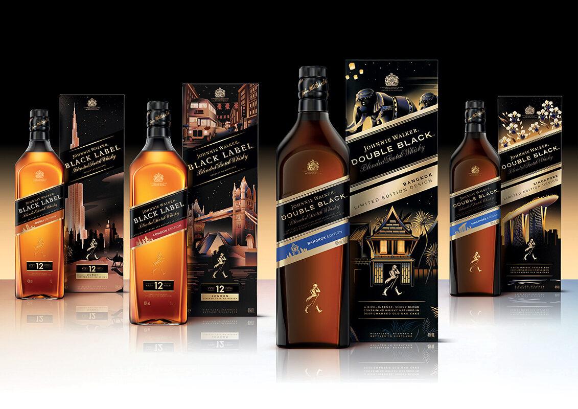 Un proyecto que hemos estado muriendo por compartir es el galardonado trabajo que Matt Murphy produjo para las mezclas Black Label y Double Black Label del gigante del whisky escocés, Johnnie Walker. La agencia de diseño con sede en Londres, Bloom se puso en contacto en busca de Matt para ayudarles a dar vida a los espíritus pioneros de ocho ciudades de todo el mundo a través de unas hermosas ilustraciones de empaques. Trabajando estrechamente con la agencia durante un período intenso, Matt pudo producir obras de arte que celebraron Bangkok, Delhi, Dubai, Kuala Lumpur, Londres, Mumbai, París y Singapur respectivamente. Ver los resultados de los esfuerzos de Matt solo se hizo más dulce cuando se nos notificó que las ilustraciones obtuvieron recientemente un premio de Drum Design en la categoría Diseño de envases: Gráficos. ¡Beberemos a eso!
