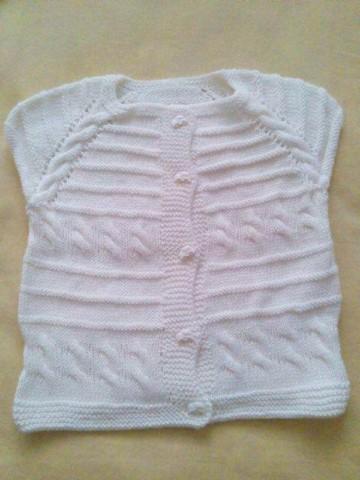 Beyaz Bebek Yeleği