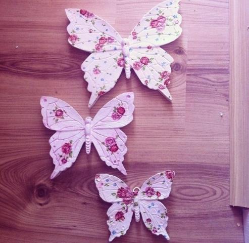 Renkli Kelebekler