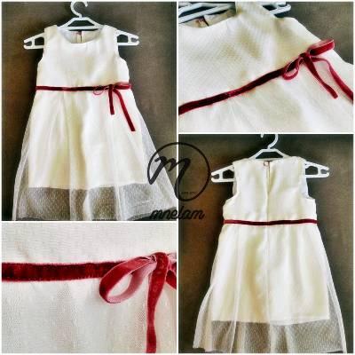 Beyaz Kelebek Elbise