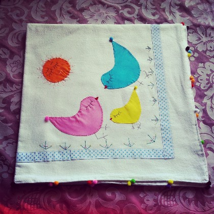 Organik Bebek Battaniye Takımı