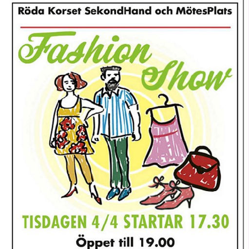 Fashion Show - Röda korset