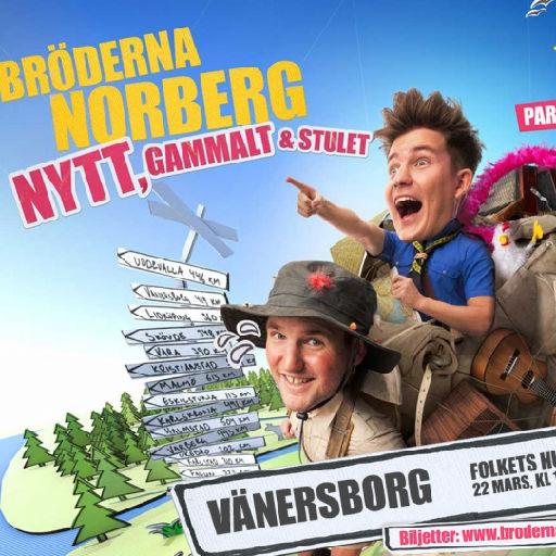 Bröderna Norberg på turné - Nytt, gammalt & stulet
