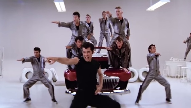 Grease greased lightning without music john travolta house of halo funny music video