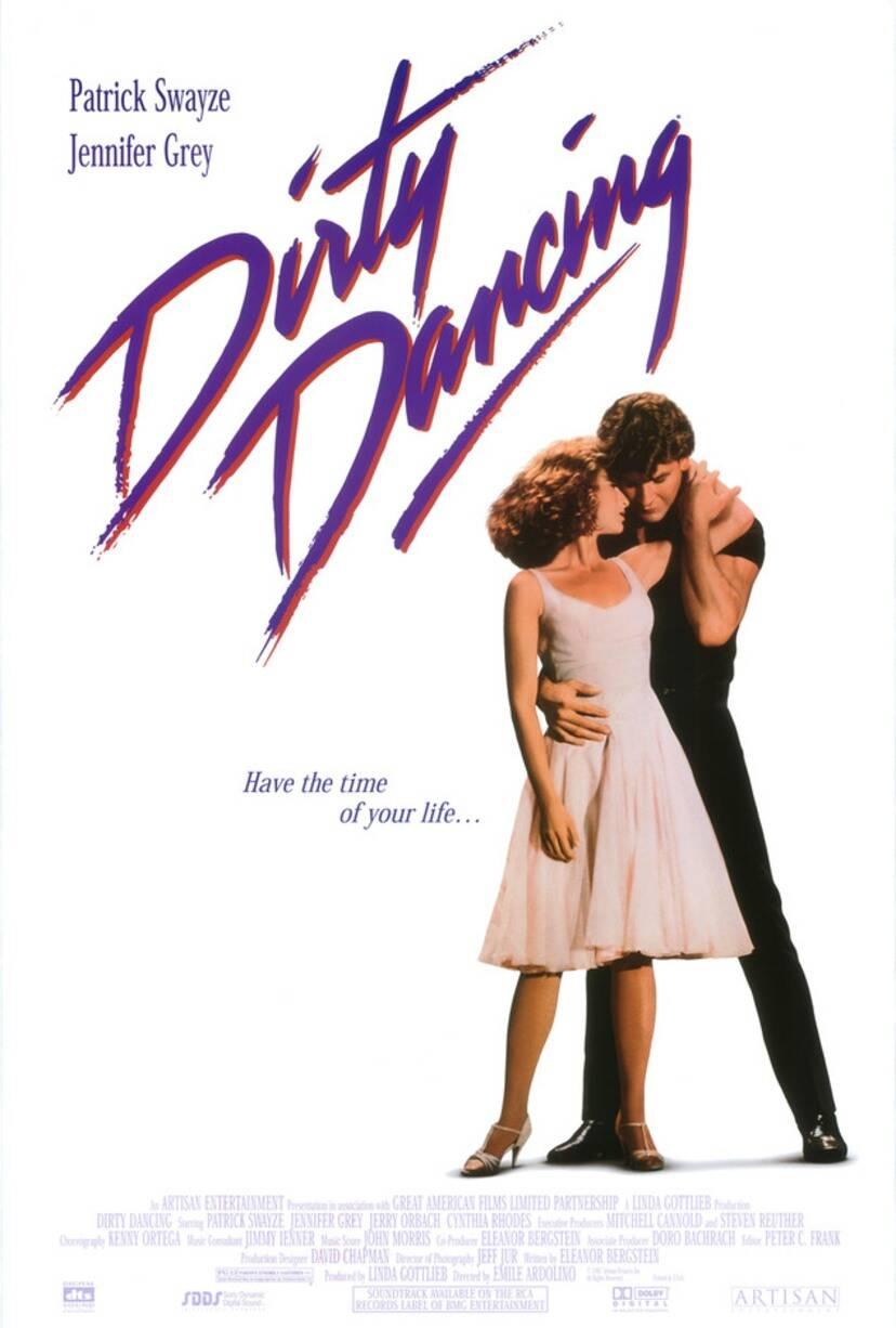 Dirty dancing poster original 2  1  1