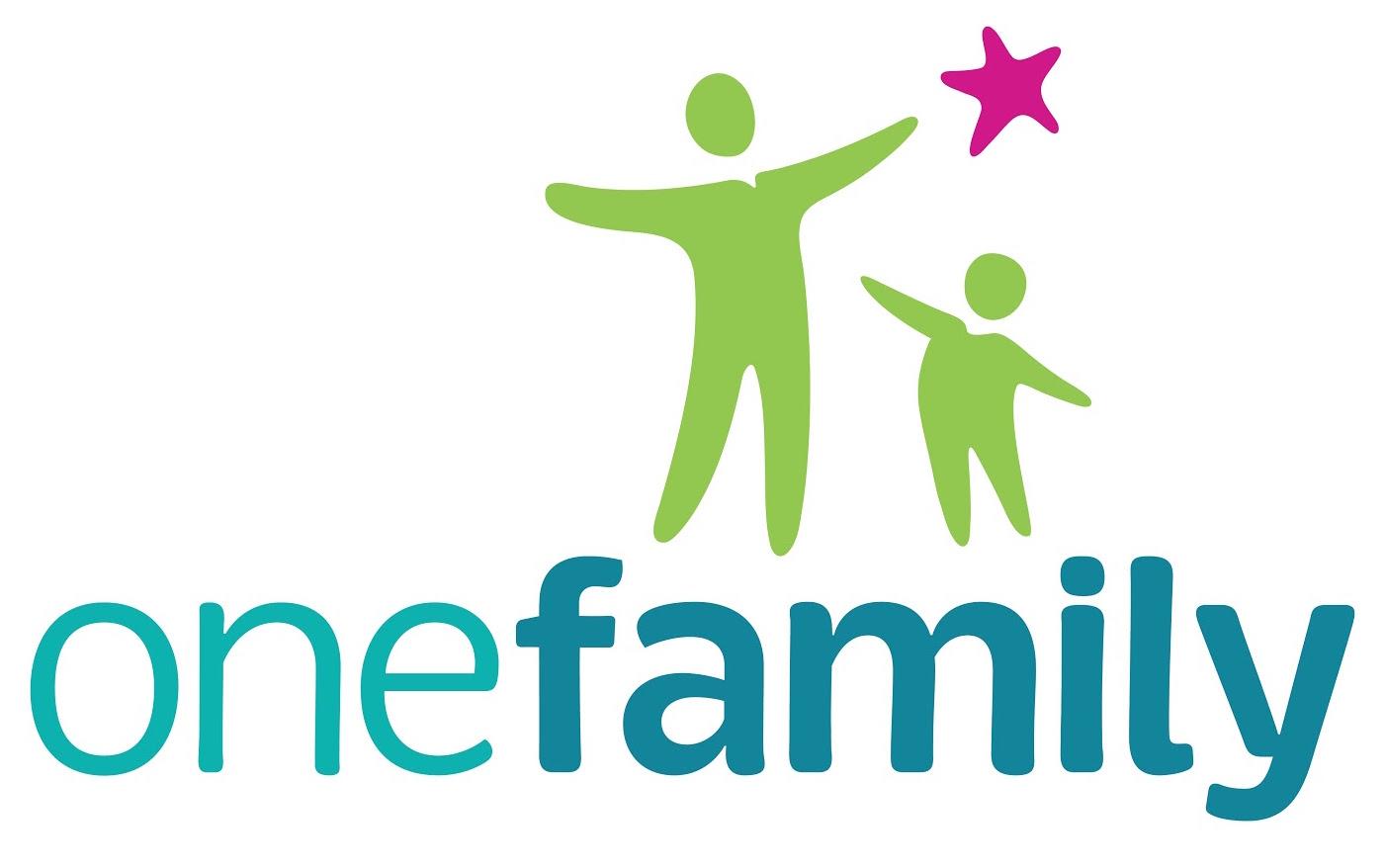 One family logo no strapline