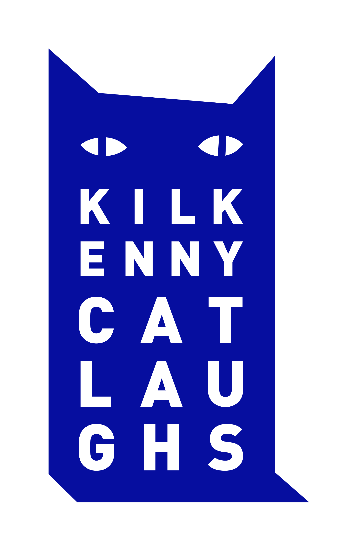 Catlaughs logo blue rgb