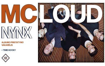 McLoud savo naująjį albumą pristatys menų fabrike Loftas