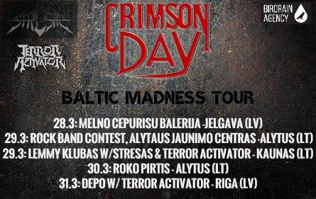 Kovo paskutinį savaitgalį - hard'heavy'thrash maratonas Kaune