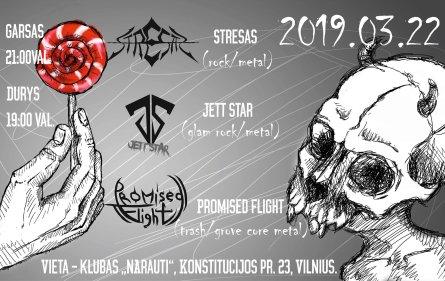 Klube nArauti - modernaus ir senosios mokyklos metalo muzikos koncertas