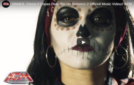 Sinner - Fiesta Y Copas (feat. Ronnie Romero)