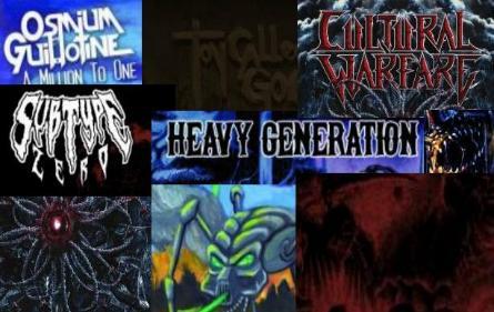Rugsėjo mėnesio undergroundo albumų apžvalga