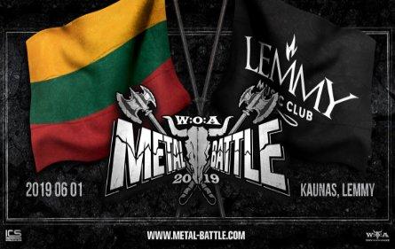 Pirmą vasaros dieną - Wacken Metal Battle konkurso finalas