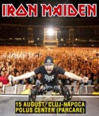 \Iron Maiden\ koncertuos Drakulos žemėje
