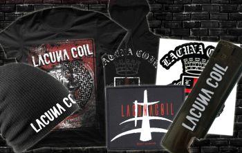 Laimėkite Lacuna Coil prizus !