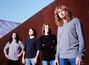 Permainos Megadeth planuose