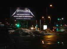 Pavogtas \Metallica\ plakatas