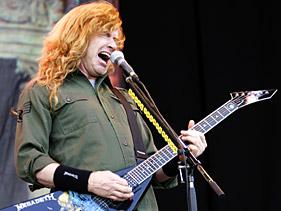 Netrukus bus išleista \Megadeth\ lyderio biografija