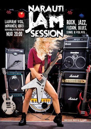 nArauti startuoja su nauju projektu Jam sessions