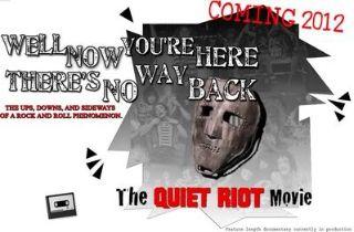 Kitais metais - filmas apie Quiet Riot