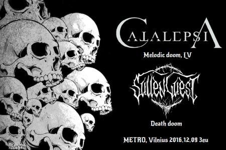 Atsinaujinusi grupė Sullen Guest kviečia į koncertą klube Metro