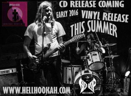 Hellhookah Endless Serpents albumo šviežios detalės!