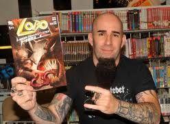 Anthrax lyderis vėl kurs komiksus