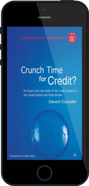 Cover of Crunch Time for Credit?  on Mobile by Edward Chancellor
