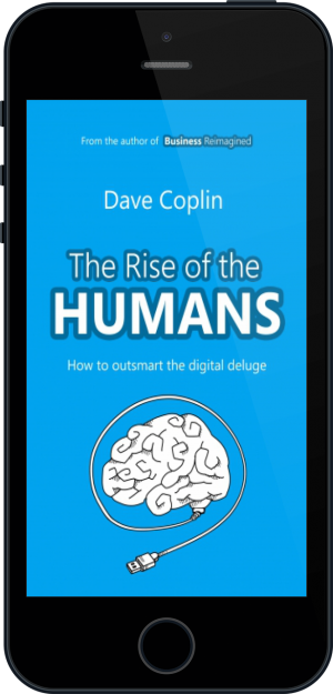 Cover of The Rise of the Humans on Mobile by Dave Coplin