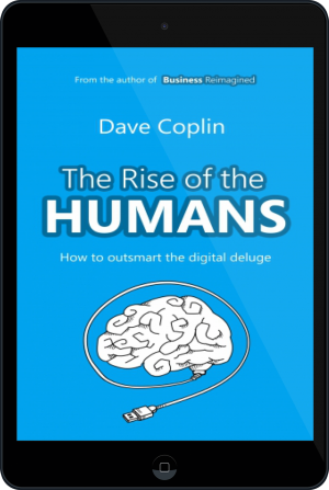 Cover of The Rise of the Humans on Tablet by Dave Coplin