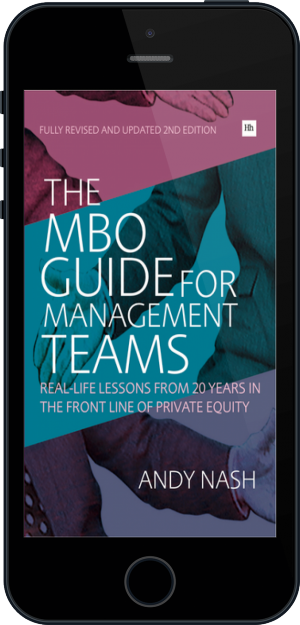 Cover of The MBO Guide for Management Teams on Mobile by Andy Nash