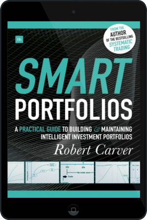Cover of Smart Portfolios on Tablet by Robert Carver