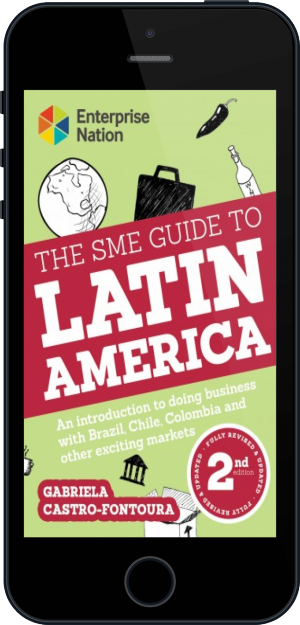 Cover of The SME Guide to Latin America on Mobile by Gabriela Castro-Fontoura