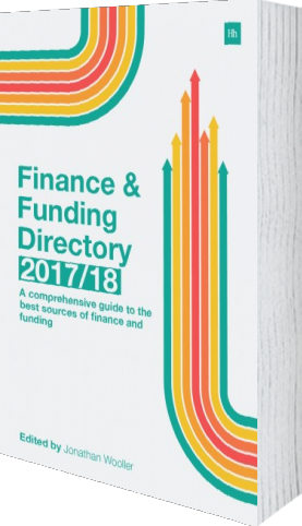 Cover of The Finance and Funding Directory 2017/18 by Jonathan Wooller