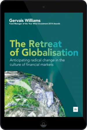 Cover of The Retreat of Globalisation on Tablet by Gervais Williams