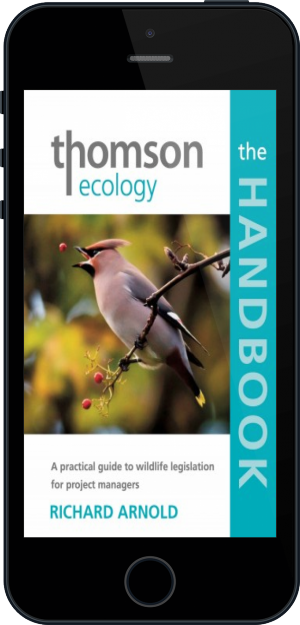 Cover of The Thomson Ecology Handbook on Mobile by Richard Arnold