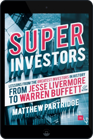 Cover of Superinvestors on Tablet by Matthew Partridge