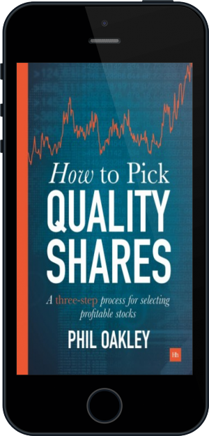 Cover of How To Pick Quality Shares on Mobile by Phil Oakley