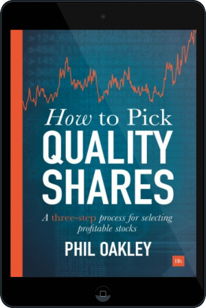 Cover of How To Pick Quality Shares on Tablet by Phil Oakley