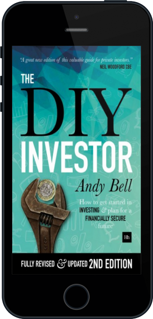 Cover of The DIY Investor on Mobile by Andy Bell