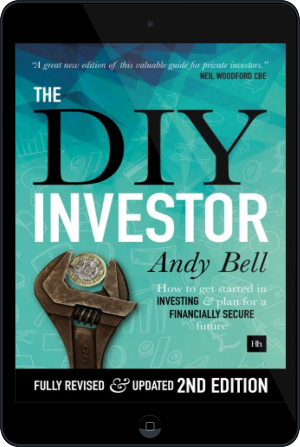 Cover of The DIY Investor on Tablet by Andy Bell