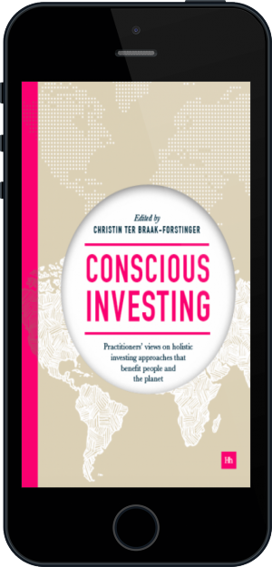 Cover of Conscious Investing on Mobile by Christin ter Braak-Forstinger